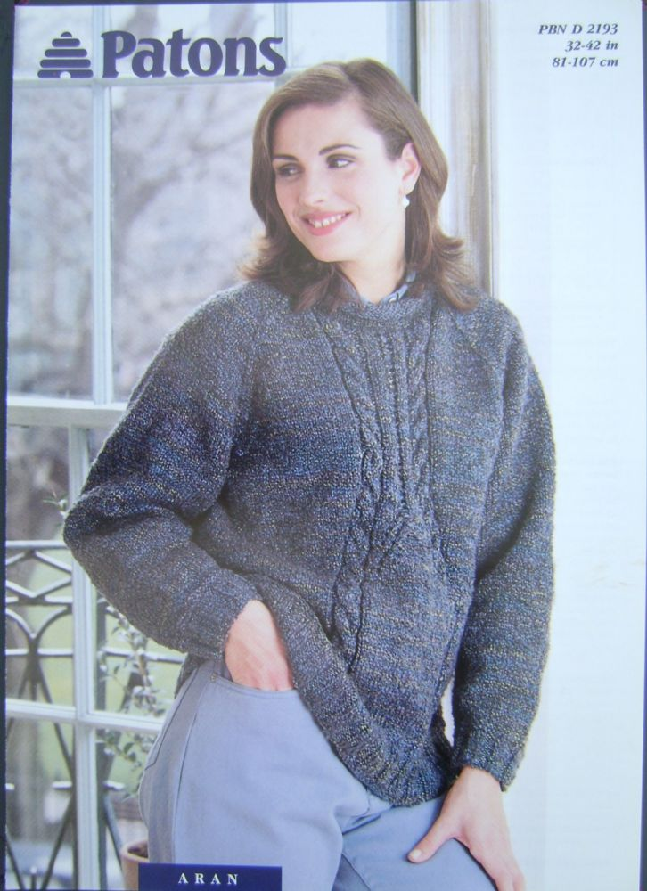 Patons Knitting Pattern 2193